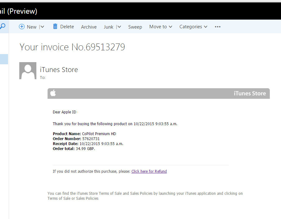The Apple Invoice Scam Email You Need To Watch Out For Daniel J - What is an email invoice